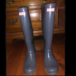 Hunter rain boots (Tall)